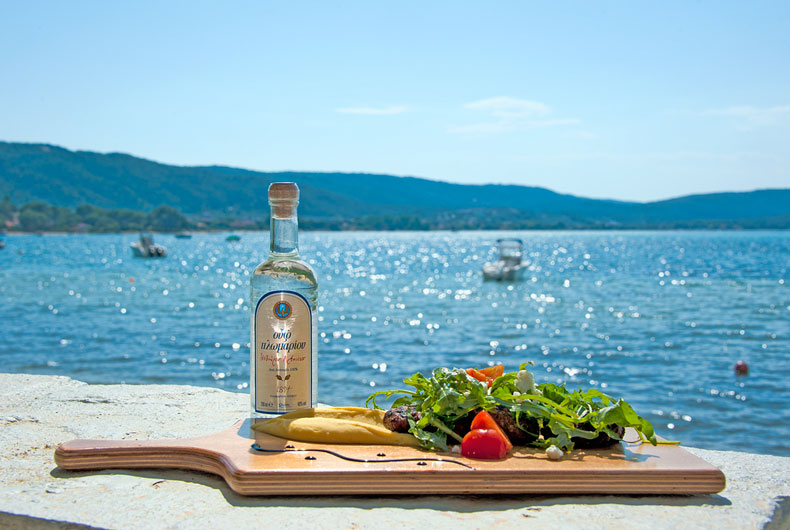 Ouzo and Keftedes